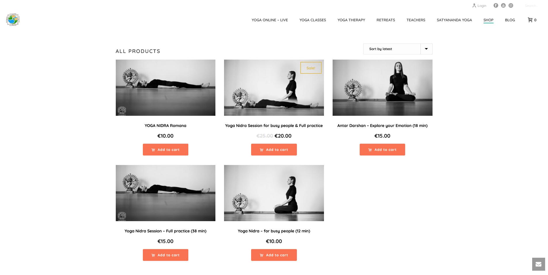 Shop Satyananda Yoga