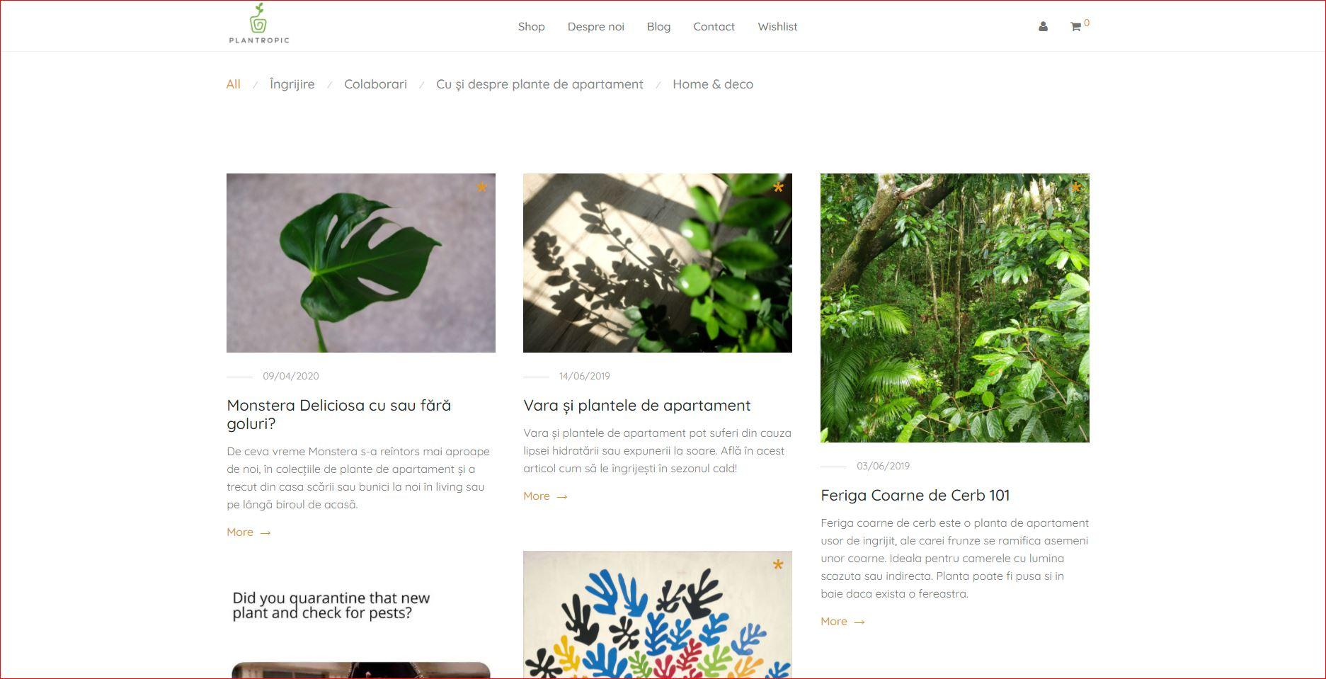 plantropic blog